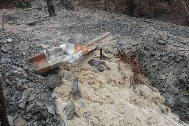 تهدید مجدد رانش زمین در زیارت گرگان، انتقال چشمه ها راهکار مقطعی
