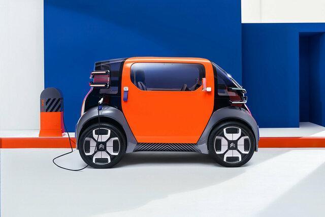 خودروی برقی جمع و جور سیتروئن را ببینید