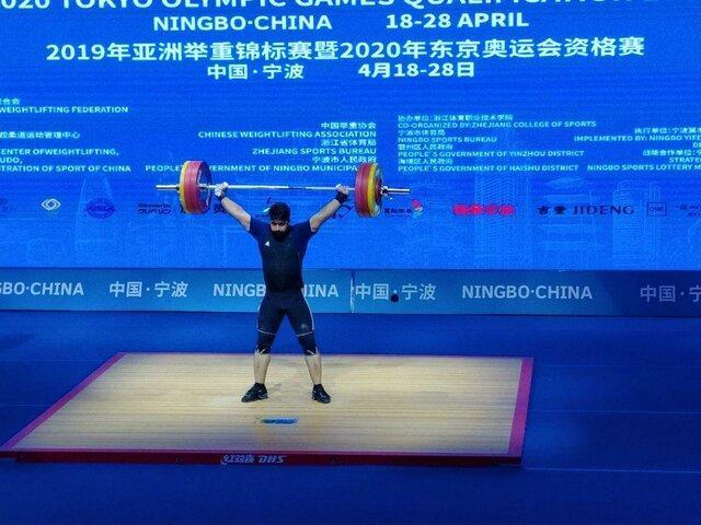 وزنه برداری قهرمانی آسیا ، نقره و برنز یک ضرب دسته 89 کیلوگرم برای ایران