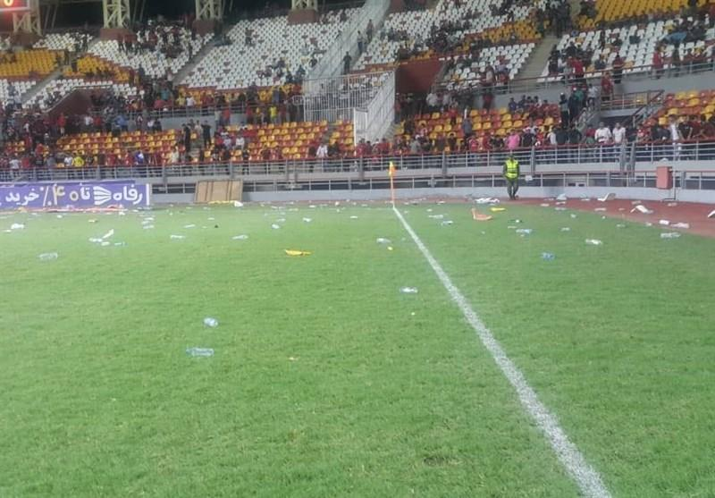 ترکی: بازی پرسپولیس - داماش باید لغو گردد، هیئت رئیسه فوتبال را بچلانید 10 درصد از آن فوتبال بیرون نمی آید