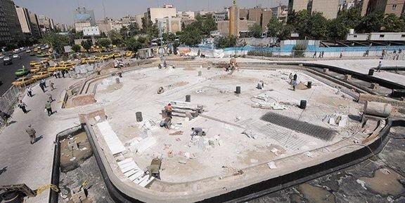 پلازای شهری میدان هفتم تیر، سه شنبه چهارم تیر افتتاح می شود