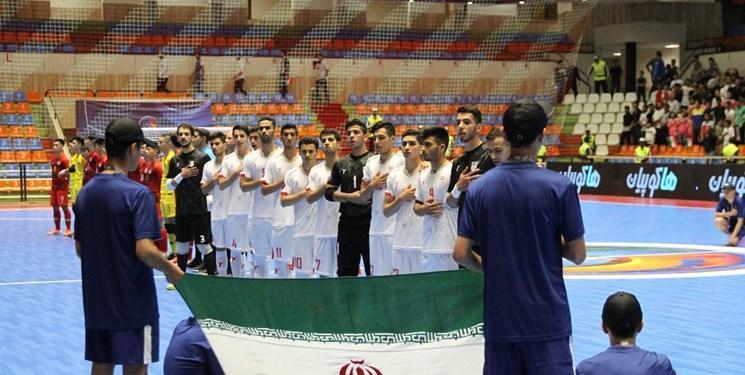 نتایج کامل دور مقدماتی فوتسال زیر 20 سال آسیا در تبریز