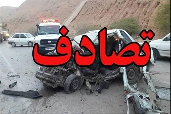 حادثه سوم امروز آزاد راه ساوه- همدان با 5 کشته و مصدوم ، 9 کشته و 28 مصدوم در محور ساوه- همدان در مدت یک ماه