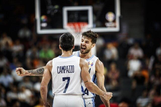 صعود بسکتبال آرژانتین به نیمه نهایی جام جهانی