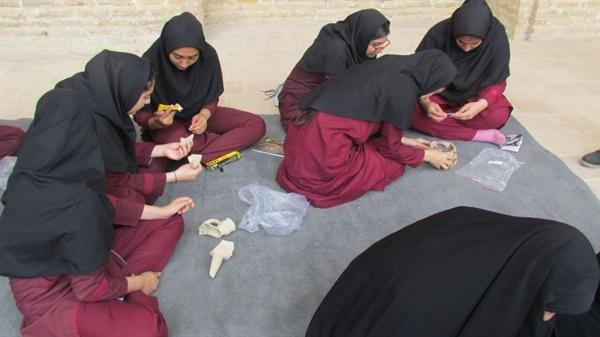 برگزاری کارگاه آموزشی در پایگاه فرح آباد