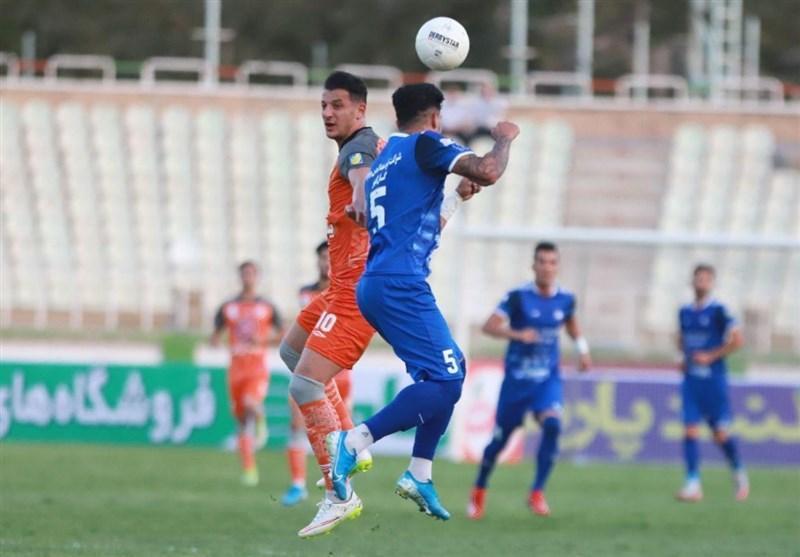 لیگ برتر فوتبال، فزونی یک نیمه ای گل گهر مقابل پارس جنوبی