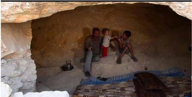 غارنشینی آوارگان سوری