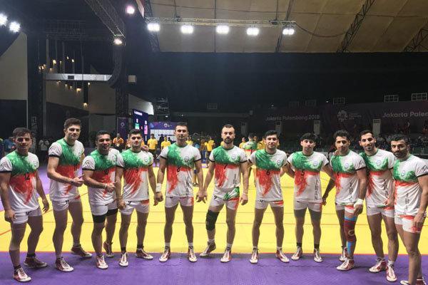 پیروزی تیم ملی کبدی ایران برابر نپال