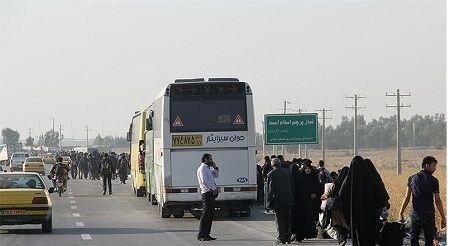 کمبود اتوبوس جبران شد