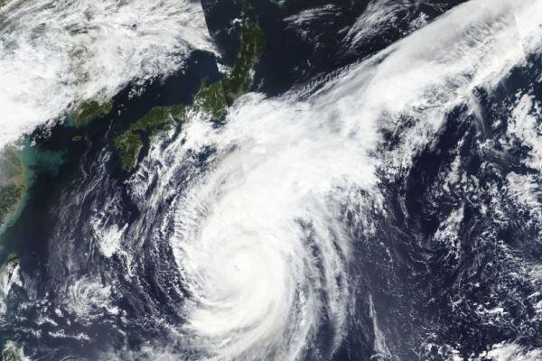 هاگیبیس در راه ژاپن، هواپیماها زمین گیر شدند