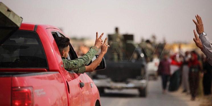 ارتش سوریه پس از پنج سال وارد شهر عین عیسی شد
