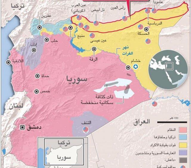 درخواست نیروهای دموکراتیک سوریه ، ایجاد گذرگاه انسانی در راس العین