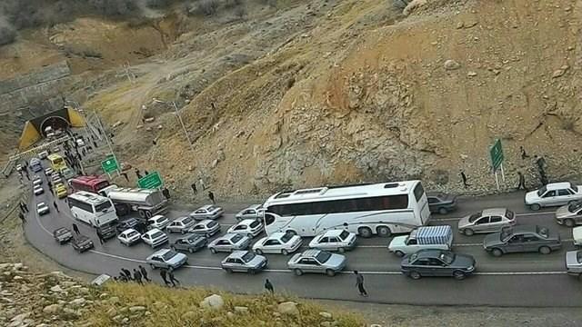 تشریح آخرین وضعیت جاده های کشور، ترافیک روان در محور مهران ـ. ایلام