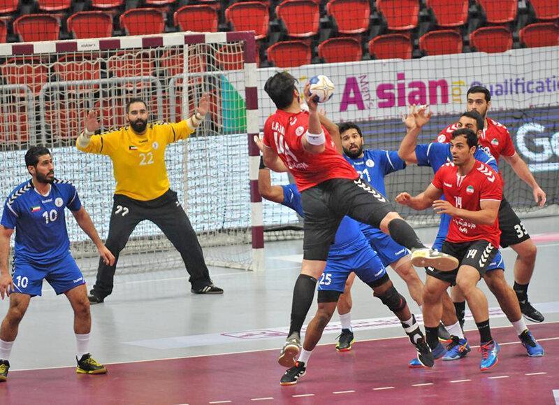 هندبال ایران پنجم شد ، رقابت بحرین و کره برای رفتن به المپیک