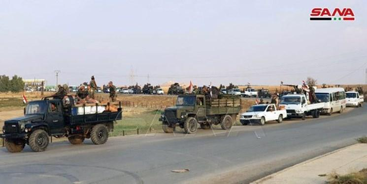 استقرار ارتش سوریه در عامودا پس از 7 سال در مرز با ترکیه