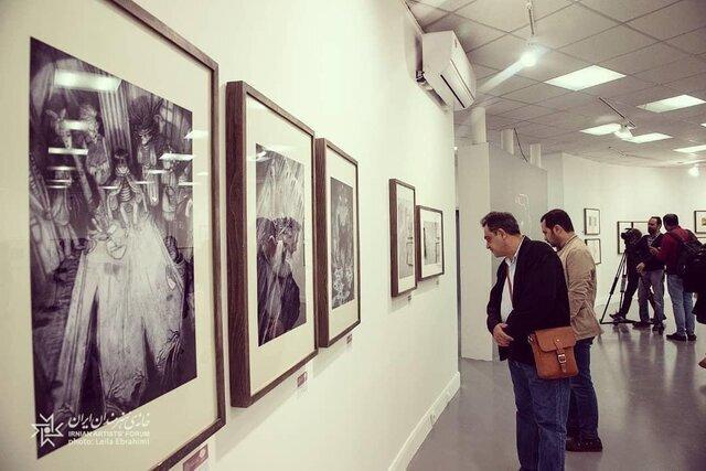 نمایشگاه تصویرگری به مکانی دیگر منتقل شد