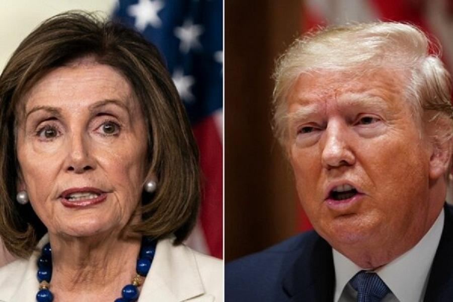 ترامپ: پلوسی هیچ چیزی درباره توافق آمریکا-مکزیک-کانادا نمی داند