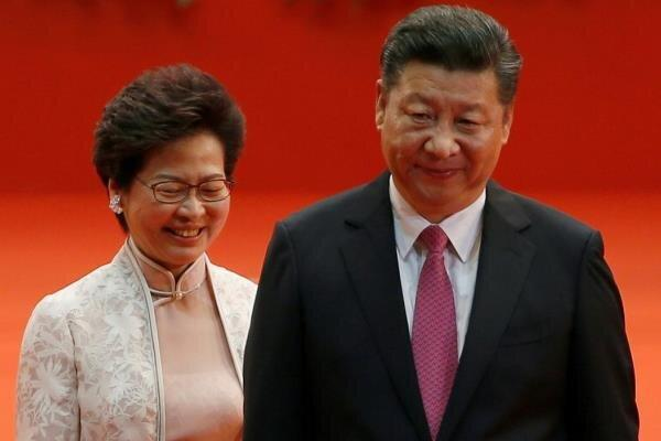 شی از رئیس اجرایی هنگ کنگ حمایت کرد