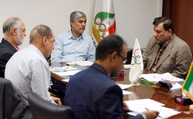 برنامه های المپیکی وزنه برداری به کمیته ملی المپیک ارائه شد