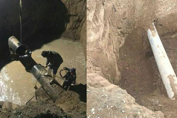 عملیات انتقال آب تصفیه خانه هفتم تهران به پیشوا سرعت گرفت