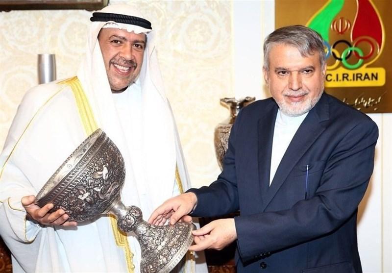 نامه صالحی امیری به رئیس شورای المپیک آسیا در پی سلب میزبانی ایران در لیگ قهرمانان