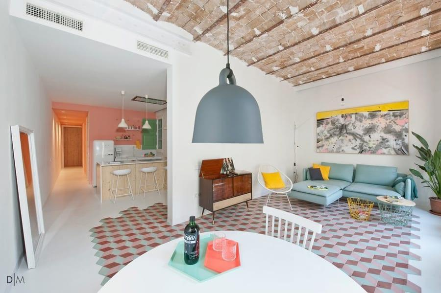 خانه ای سرزنده و رنگارنگ برای تعطیلات