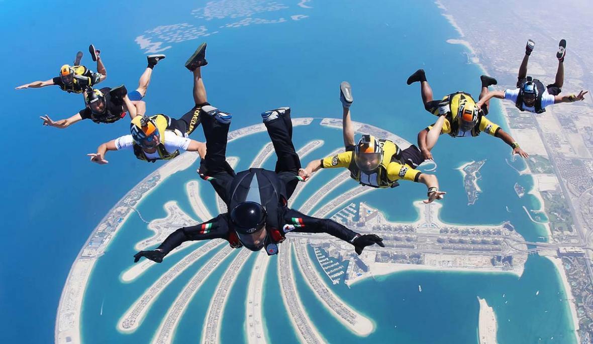 10 تفریح جالب و هیجان انگیز در دبی