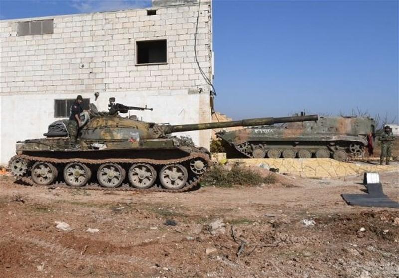 شروع پاکسازی سراقب توسط ارتش سوریه