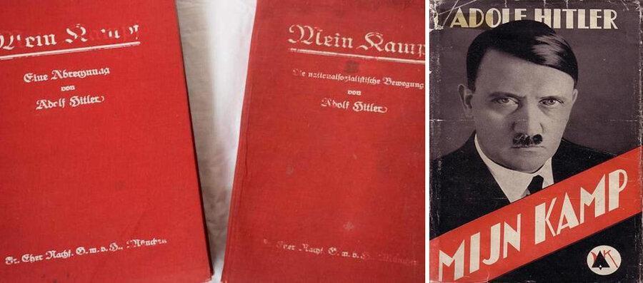 آمازون کتاب هیتلر را جمع کرد