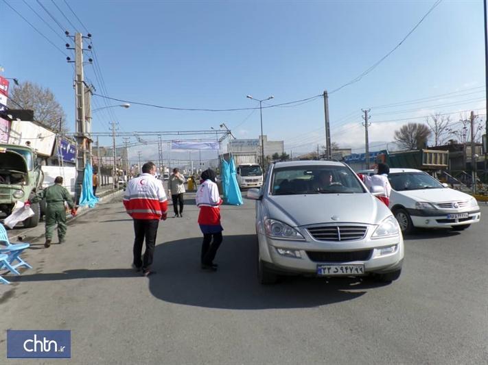 کاهش 54درصدی تردد خودروها در استان البرز