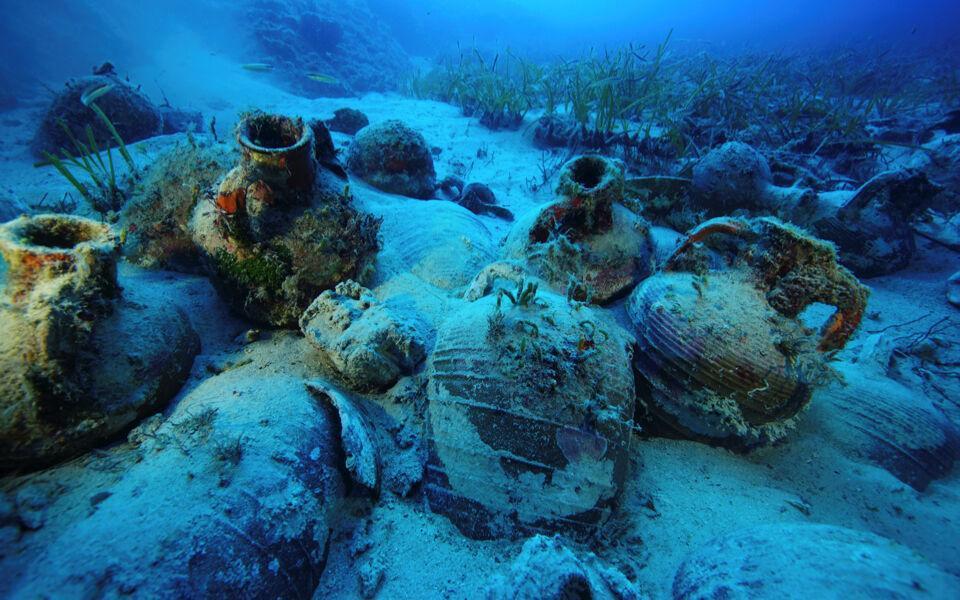 خبرنگاران افتتاح یک موزه زیردریایی در یونان