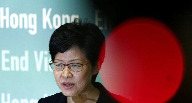 رهبر هنگ کنگ: هرج و مرج بیشتر تحمل ناپذیر است