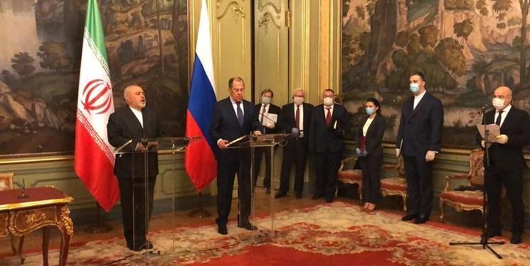 ظریف: ایران و روسیه مصمم به مقابله با رویکردهای یک جانبه برای بحران های جهانی هستند
