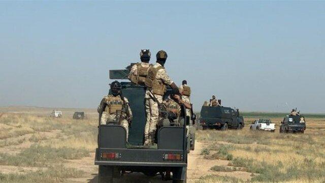 عملیات حشد شعبی عراق در نزدیکی الانبار