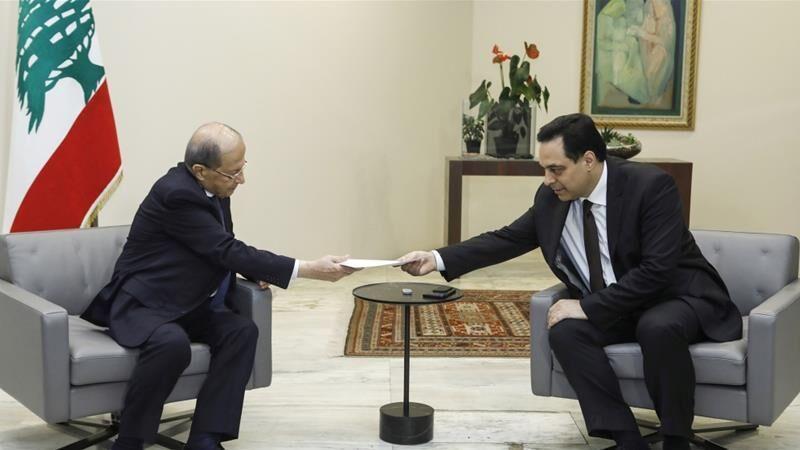 خبرنگاران واکنش فرانسه و آمریکا به استعفای نخست وزیر لبنان