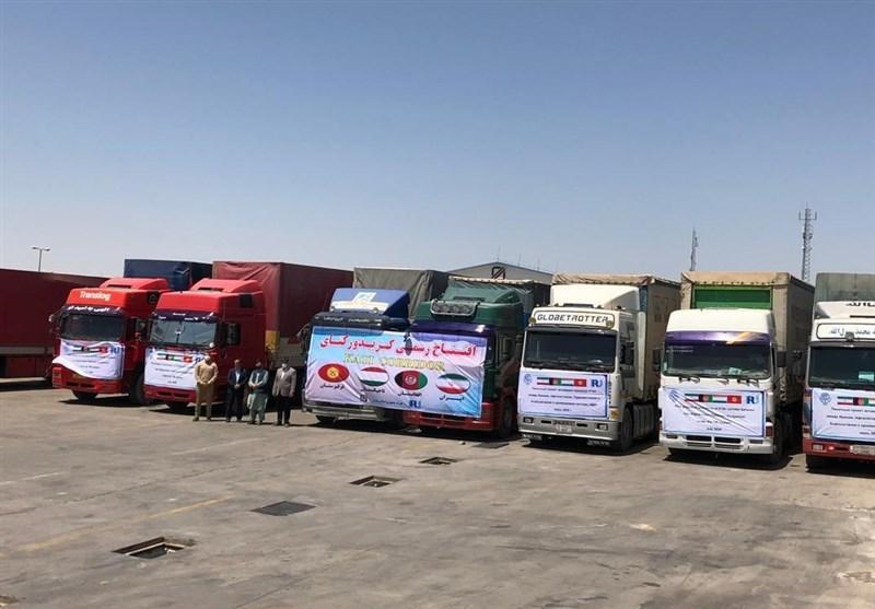 کالاهای ایرانی به وسیله افغانستان و تاجیکستان به آسیای میانه می فرایند