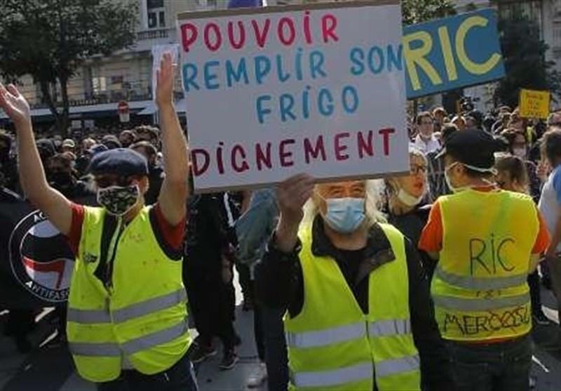 بازداشت 275 نفر در اعتراضات پاریس