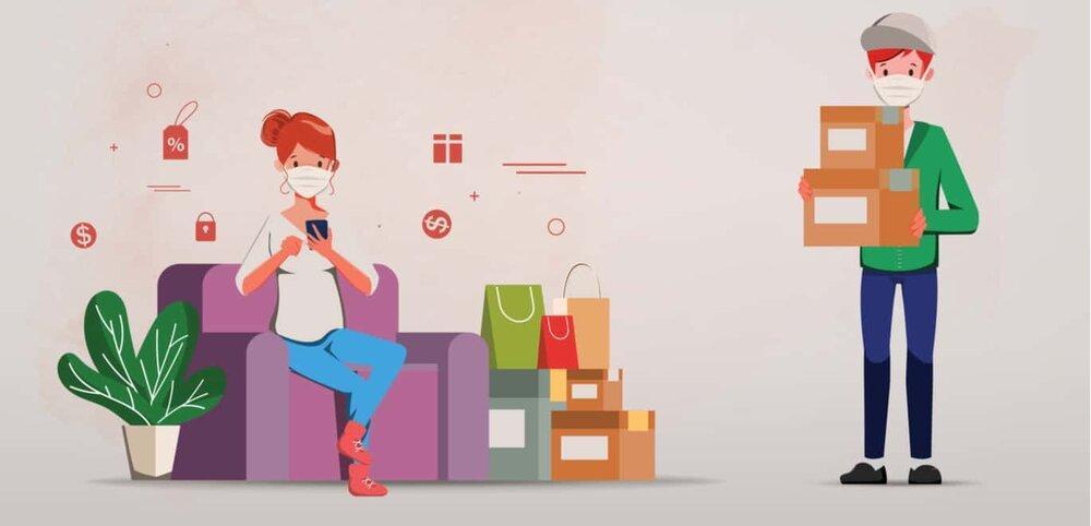 تبدیل فروشگاه های آفلاین به آنلاین، آسیب پذیری ناشی از کرونا را کاهش می دهد