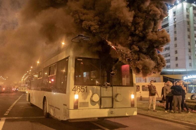 ادامه اعتراضات در بلاروس