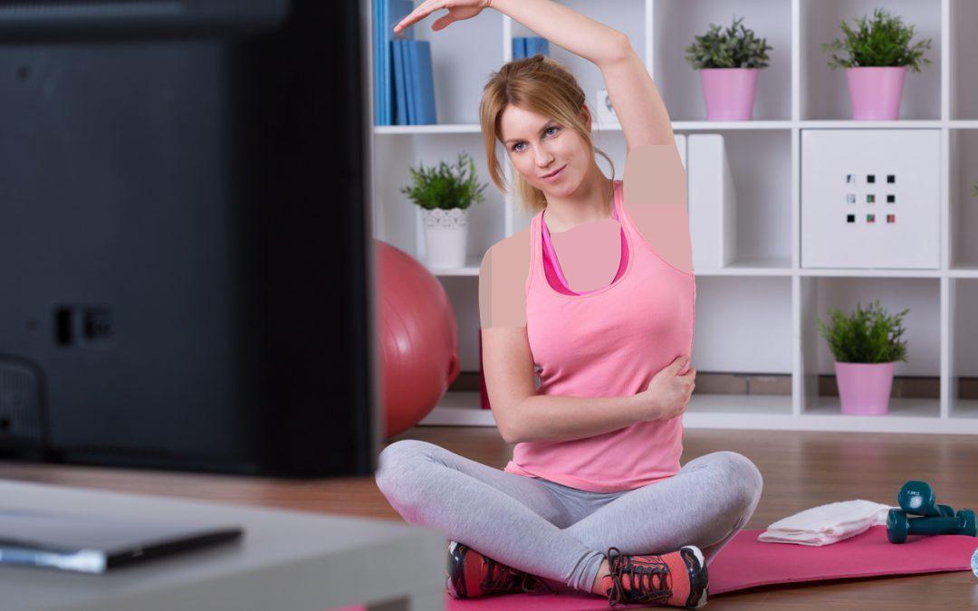 ورزش هایی که می توانید در خانه انجام دهید