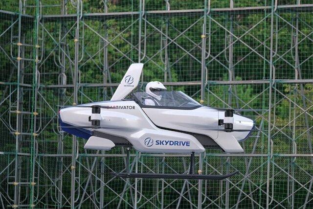 اولین آزمایش عمومی خودرو پرنده تویوتا