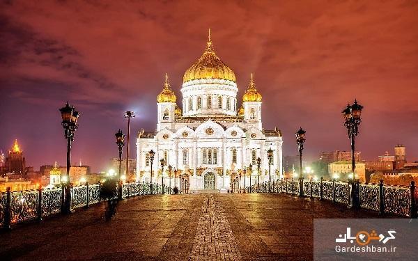 کلیسای مسیح نجات دهنده؛جاذبه تاریخی و زیبای مسکو