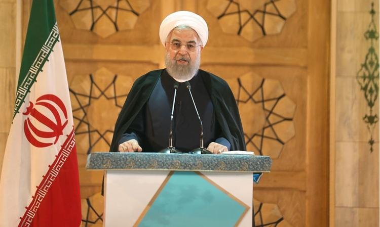 حضور مجازی روحانی در دانشگاه تهران به مناسبت سال تحصیلی جدید