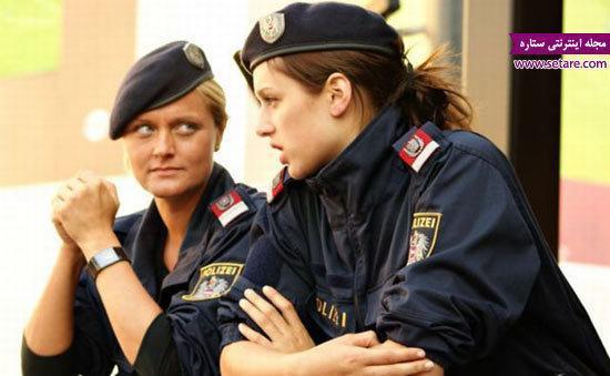 عکس پلیس زن در کشورهای مختلف جهان