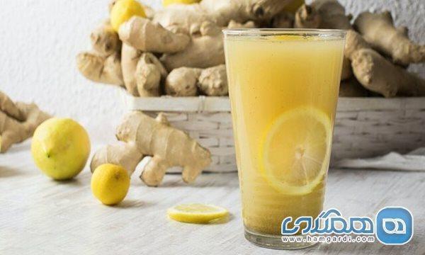 10 فایده مصرف صبحگاهی نوشیدنی زنجبیل و لیمو
