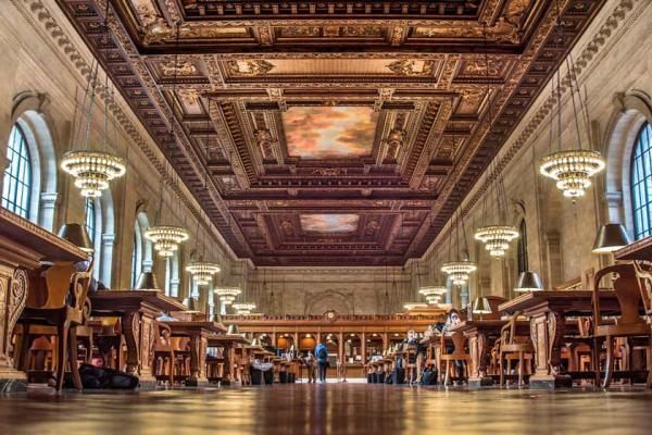 سفر به آمریکا: نیویورک، بهشت پنهان عاشقان کتاب و ادبیات