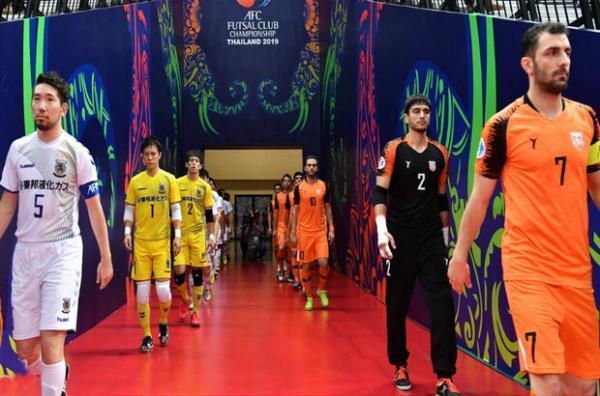 فوتسال جام باشگاه های آسیا هم لغو می گردد