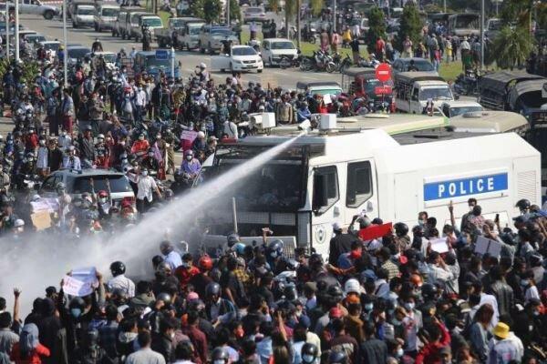 کودتاگران امروز 38 نفر را در میانمار به قتل رساندند