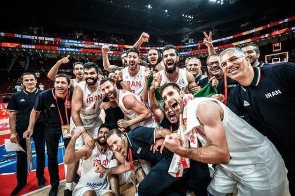 تیم ملی بسکتبال ایران بازی افتتاحیه المپیک را برگزار می کند خبرنگاران