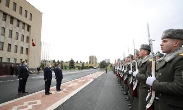 سفر وزیر دفاع عراق به ارمنستان